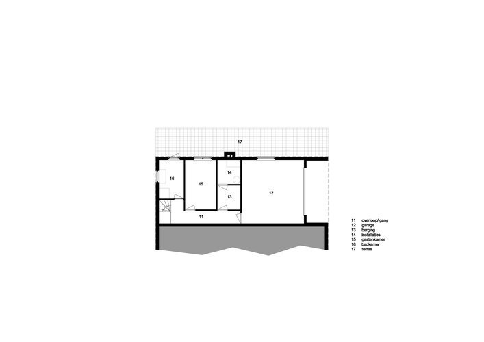 existing plan on garden level